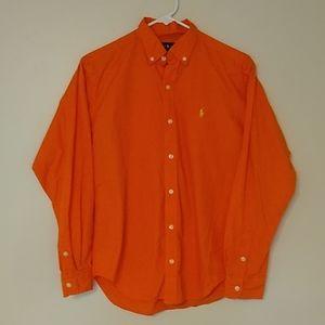 Ralph Lauren Boys Button Down Dress Shirt
